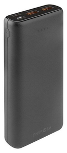 Портативное ЗУ EnergEA АКБ Compac Ultra 20000 mAh черный