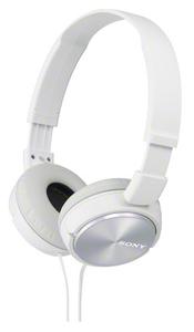 Наушники накладные Sony MDRZX310W.AE 1.2м белый проводные (оголовье)