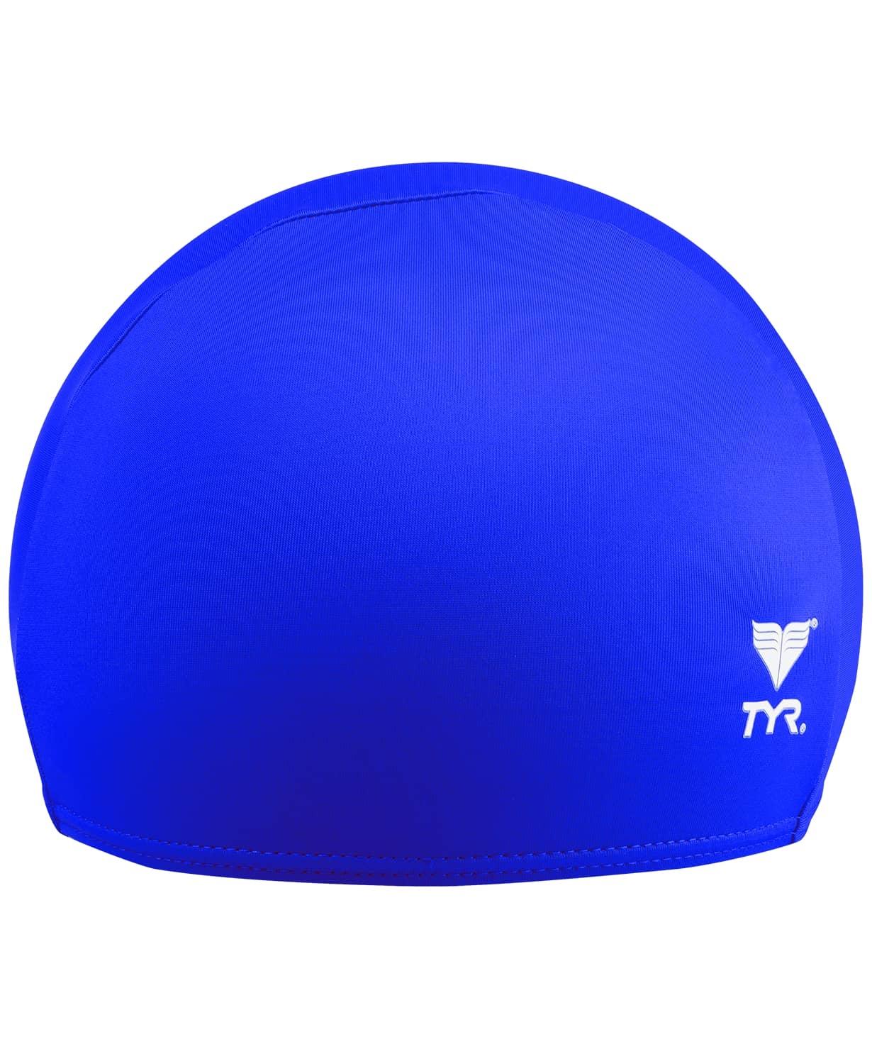 Шапочка для плавания Solid Lycra Cap, лайкра, LCY/428, голубой