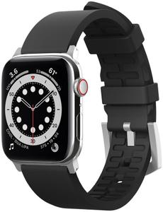 Ремешок Elago для Apple Watch 44/42 mm Premium Rubber strap Black