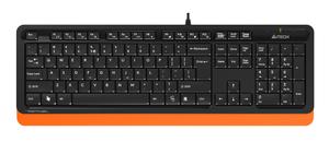 Клавиатура проводная A4Tech Fstyler FK10 черный