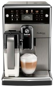 Кофемашина Philips Saeco SM5573 PicoBaristo Deluxe серебристый