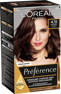 Краска для волос Preference 4.15 Каракас L'Oreal Paris