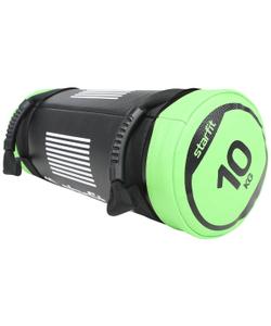 Мешок-утяжелитель WT-601 10 кг, черно-зеленый