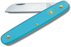 Нож перочинный Victorinox EcoLine Floral (3.9050.25B1) 100мм 1функций голубой блистер