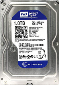 Жесткий диск Western Digital Caviar Blue [WD10EZEX] 1 Тб