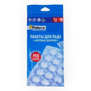 Пакеты для льда 12шт Paterra