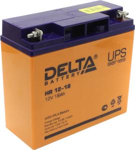 Аккумулятор Delta HR 12-18 (12V, 18Ah) для UPS