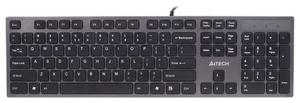 Клавиатура проводная A4Tech KV-300H серый