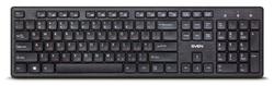 Клавиатура беспроводная Sven KB-E5800W черный