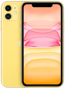 Смартфон Apple iPhone 11 MHDE3RU/A NEW 64 Гб желтый
