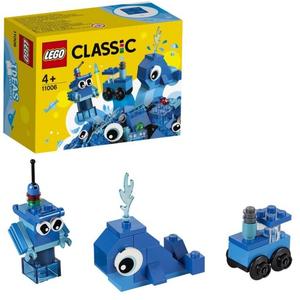 Конструктор lego classic синий набор для конструирования 11006