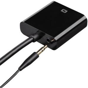 Адаптер Hama HDMI/VGA (f) 0.1м. Позолоченные контакты (00054569)