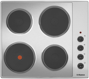Электрическая варочная поверхность Hansa BHEI601060 серебристый