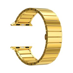 Ремешок из нержавеющей стали для Apple Watch 38/40 mm LYAMBDA CANOPUS DS-APG-05-40-GL Gold