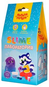 "Набор для создания слайма Мульти-Пульти ""Slime лаборатория"", голубой"