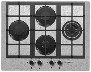 Газовая варочная панель GEFEST ПВГ 2231-01 Р46 серый