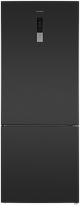 Холодильник MAUNFELD MFF1857NFSB черный