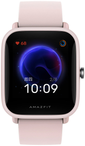 Смарт-часы Amazfit Bip U розовый