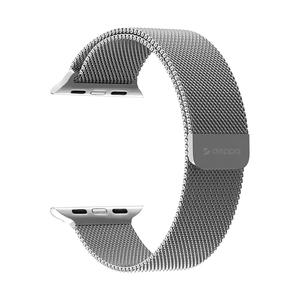 Ремешок Deppa Band Mesh для Apple Watch 42/44mm (Серебристый)