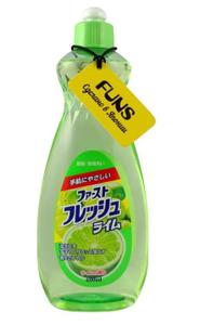 Жидкость для мытья посуды, овощей и фруктов Свежий лайм 600мл Funs