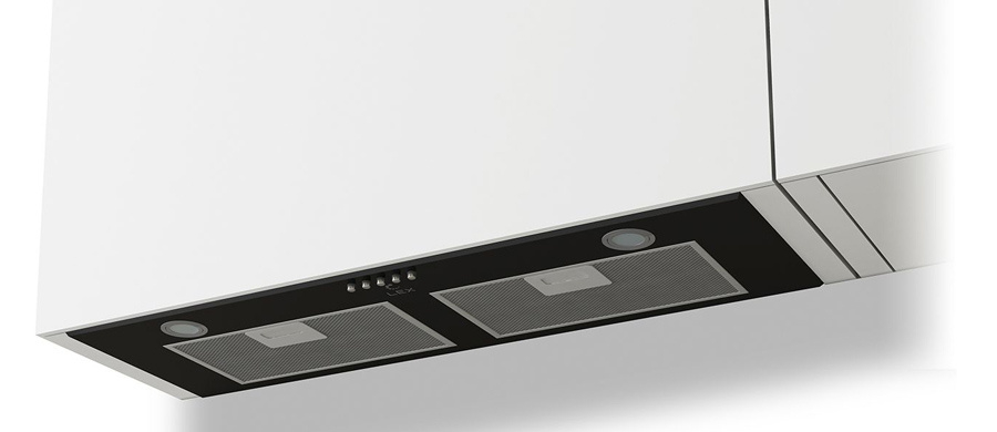 Вытяжка встраиваемая LEX GS Bloc P 900 BL черный
