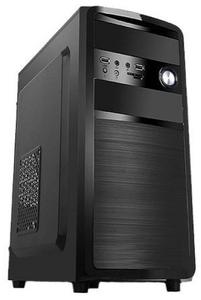 Корпус BOOST Micro ATX (MicroA/M180-SA) Black + black inside БП 450W, нет БП, Не работает переднее USB