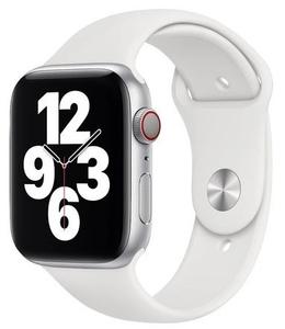 Ремешок силиконовый «vlp» Silicone Band для Apple Watch 42/44 мм, белый
