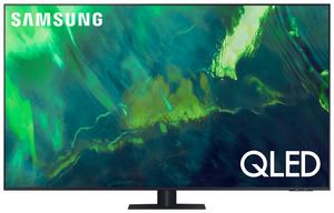"Телевизор Samsung QE55Q70AAUXRU 55"" (138 см) серый"
