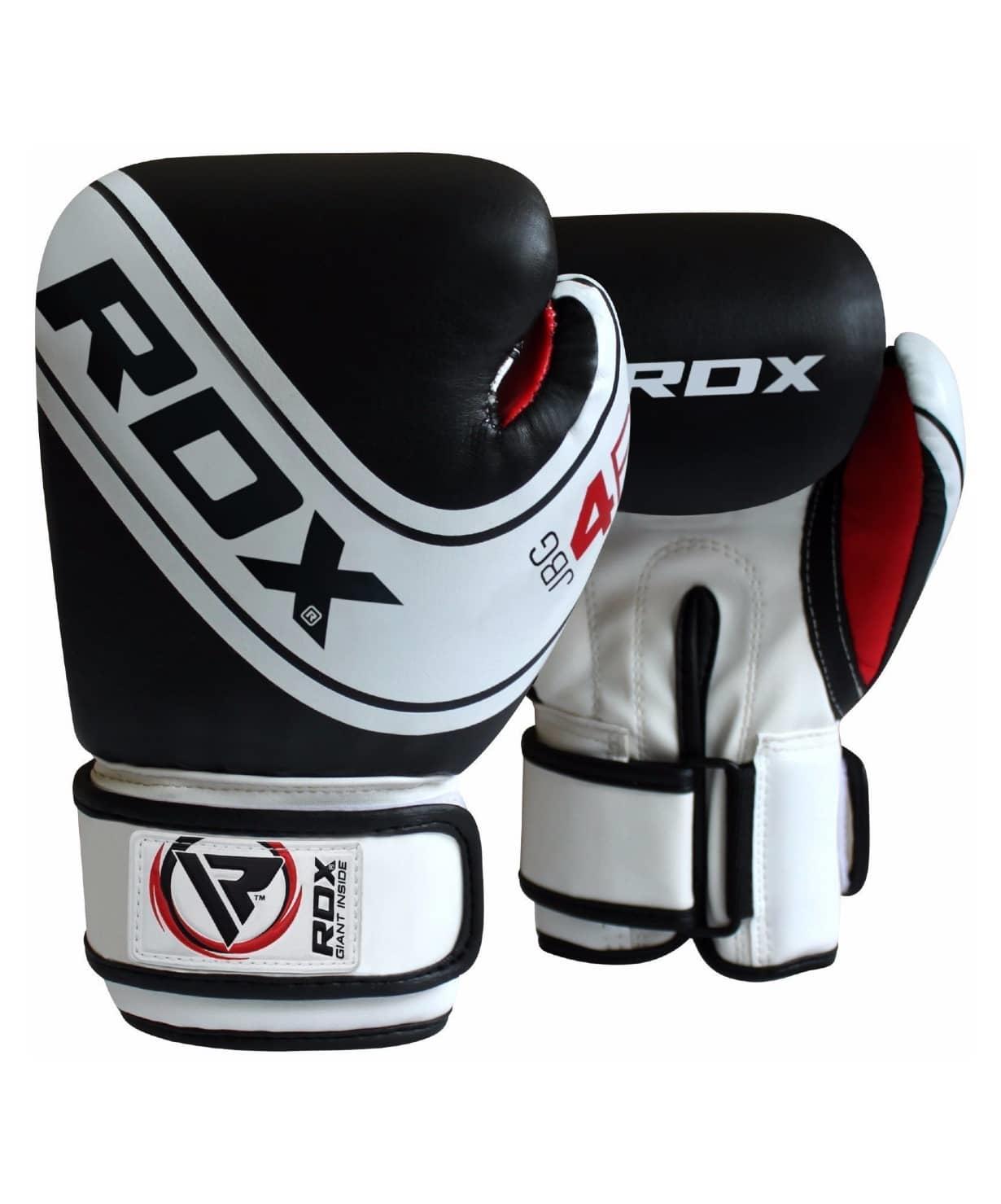 Перчатки боксерские KIDS WHITE/BLACK JBG-4B-6oz, 6 oz