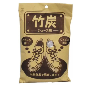 Бамбуковый нейтрализатор запаха для обуви 100гр. 2 шт. Kokubo