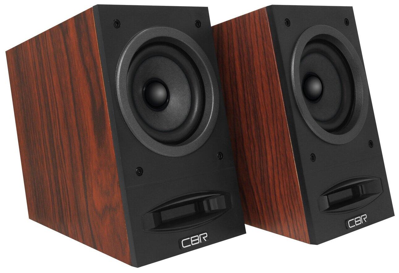 Колонки CBR CMS 590 коричневый