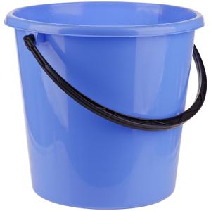 Ведро пластиковое, пищевое OfficeClean, мерная шкала, голубое, 12л