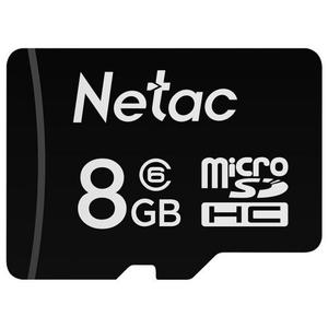 Карта памяти Netac P500 [NT02P500STN-008G-S] 8 Гб + SD Adapter