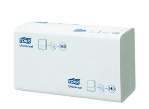 ТОРК H3 Полотенца листовые сложения ZZ  250шт (коробка 20шт)