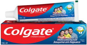 "Зубная паста ""Защита от кариеса"" свежая 100мл Colgate"
