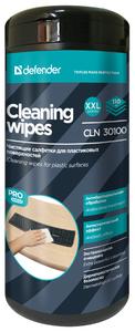 Defender <CLN30100> Влажные чистящие салфетки в пластиковой тубе (110шт)