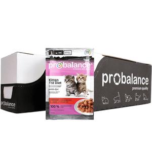 Консервированный корм ProBalance 1'st Diet для котят с телятиной в желе 85 г., (25 шт. в уп.)