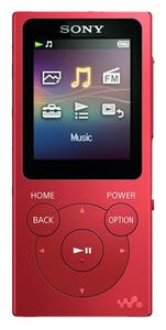 MP3-плеер Sony NW-E394 красный