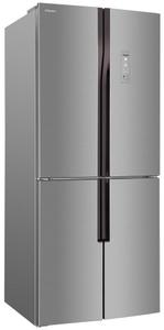 Холодильник Hansa FY418.3DFXC серебристый