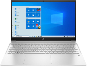 Ноутбук HP Pavilion 15-eg0131ur (4E1J3EA) серебристый