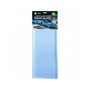 Салфетка микрофибра для стекла Magic Glass 40*50 Grass