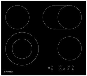 Электрическая варочная поверхность MAUNFELD EVCE.594.SM.D-BK черный