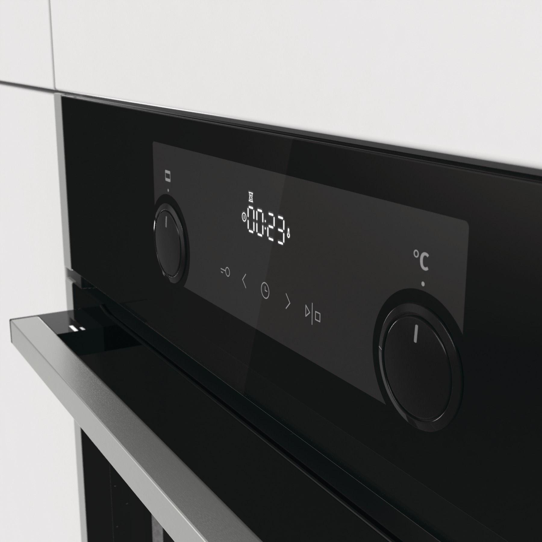 Духовой шкаф Gorenje BPS737E20XG черный