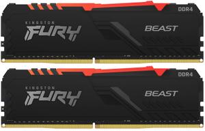 Оперативная память Kingston FURY [KF430C15BB1AK2/32] RGB 32 Гб DDR4