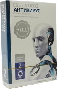 ПО Eset NOD32 Антивирус Platinum Edition - лицензия на 2 года на 3ПК, BOX (NOD32-ENA-NS(BOX)-2-1)