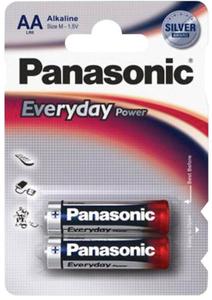 Panasonic LR6 Everyday Power  BL*2 батарейка    (2х12=24)