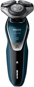 Бритва роторная Philips Series 5000 S5572/10 реж.эл.:3 питан.:аккум. черный/синий, после ремонта