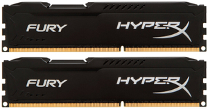 Оперативная память HyperX Fury [HX316C10FBK2/16] 16 Гб DDR3