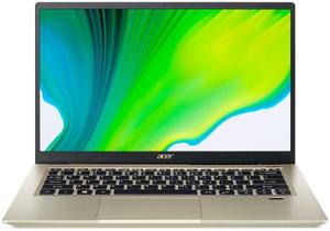 Ультрабук Acer Swift 3X (SF314-510G-74N2) золотистый